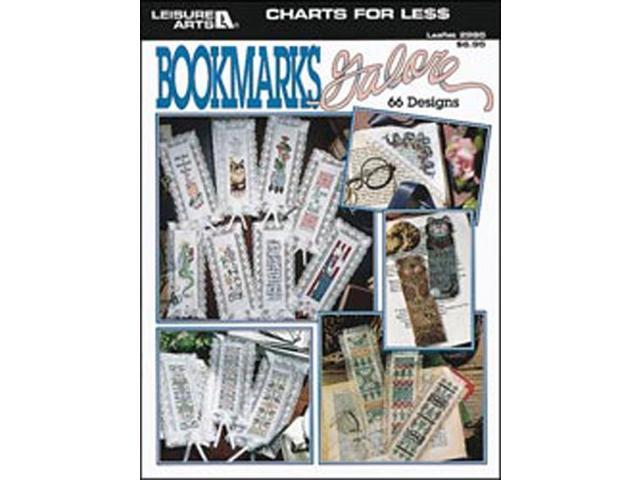 Leisure Arts-Charts For Less: Bookmarks Galore