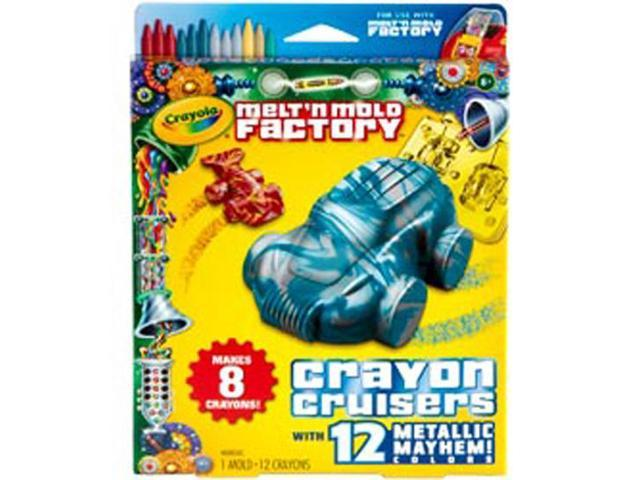 Melt 'n Mold Factory Kit-Crayon Cruisers - Metallic Mayhem