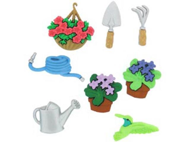 Dress It Up Embellishments-Gardening