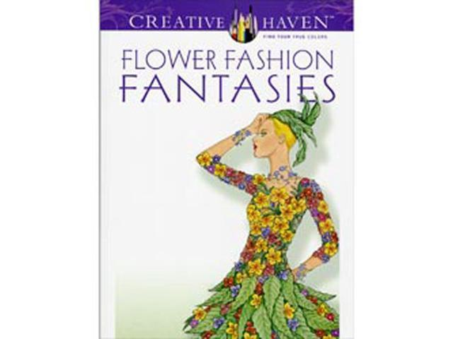 Dover Publications-Flower Fashion Fantasies