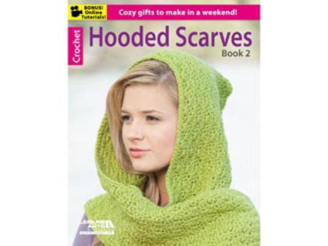 Leisure Arts-Hooded Scarves Book 2