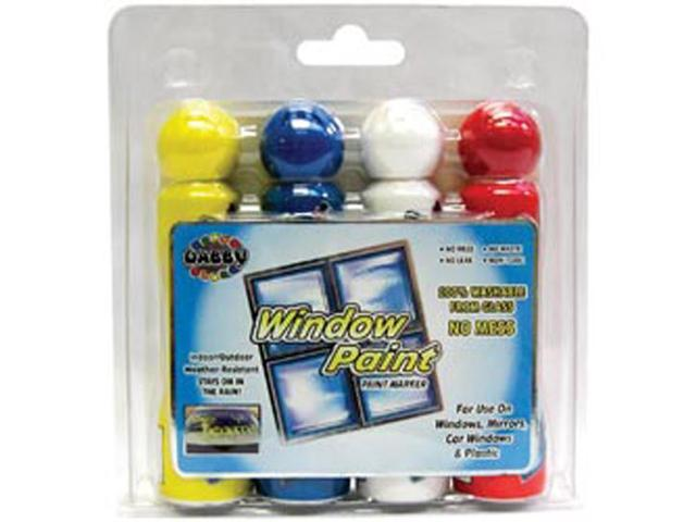 Dabby Window Paint 4/Pkg-