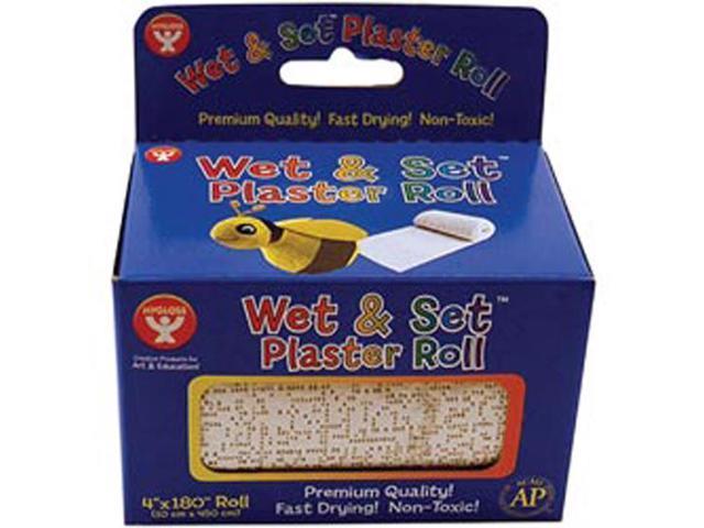 Wet & Set Plaster Roll 4