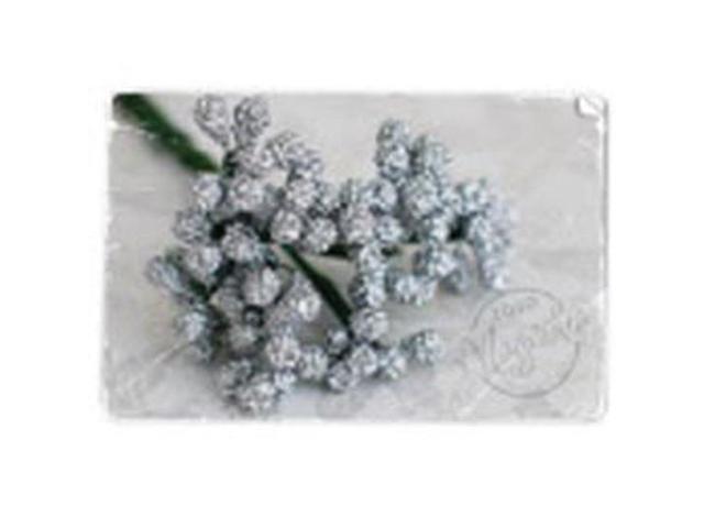 Berries Stem-Silver