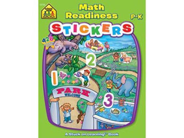 Sticker Book-Math Readiness