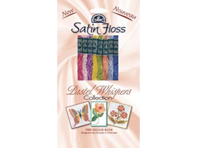DMC Satin Floss Collection Pack 8/Pkg-Pastel Whispers