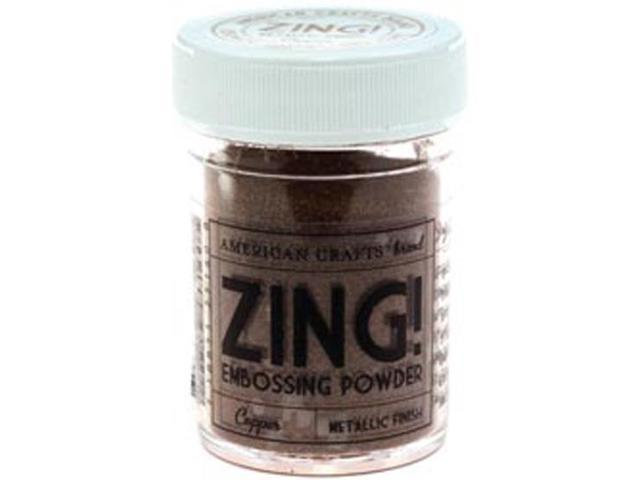 Zing! Metallic Embossing Powder 1 Ounce-Copper