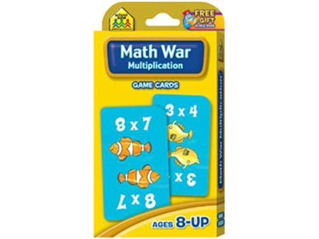 Game Cards-Multiplication Math War