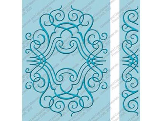 Cuttlebug 5x7 Embossing Folder/Border Set-Nathaniels' Penwork