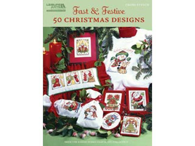 Leisure Arts-Fast & Festive; 50 Christmas Designs