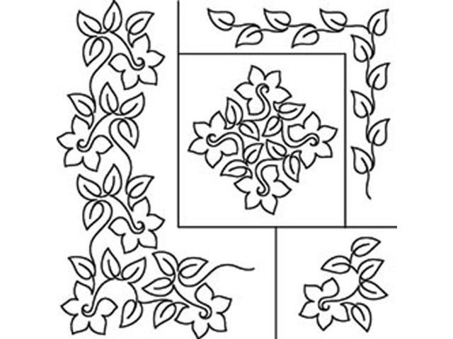 Quilt Stencils By Patricia Ritter-Daffodil 17
