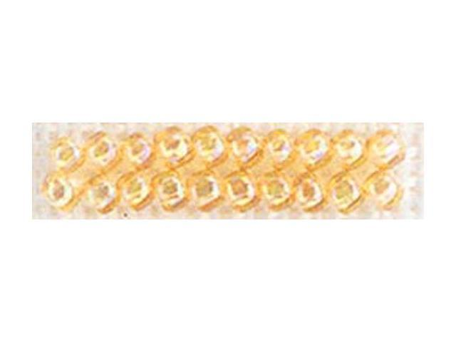 Mill Hill Glass Seed Beads Economy Pack 9.08 Grams/Pkg-Crystal Honey