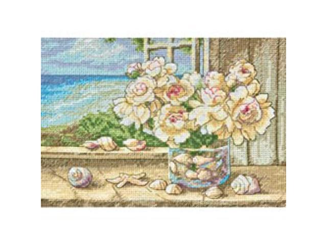 Gold Collection Petite By The Sea Counted Cross Stitch Kit-7