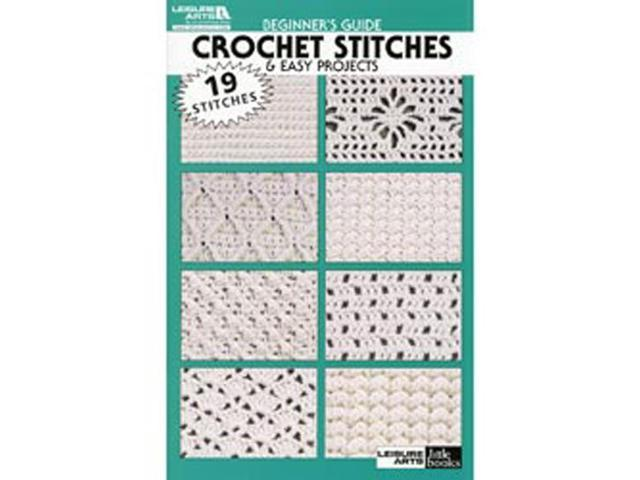 Leisure Arts-Beginners Guide Crochet Stitches