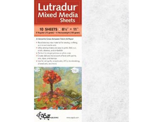 Lutradur Mixed Media Sheets -8-1/2