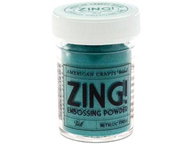 Zing! Metallic Embossing Powder 1 Ounce-Teal