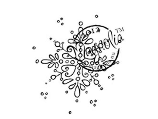 A Christmas Story Cling Stamp-Jingle Jangle Snowflake
