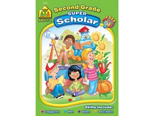 Super Scholar Workbook-Second Grade