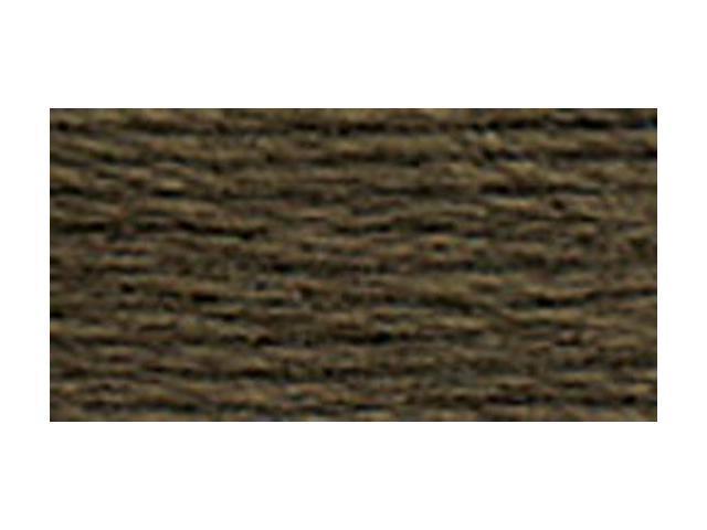 DMC Pearl Cotton Skeins Size 3 - 16.4 Yards-Very Dark Brown Grey