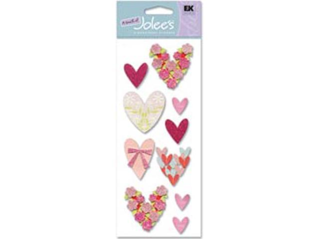 Touch Of Jolee's Dimensional Sticker-Loving Hearts