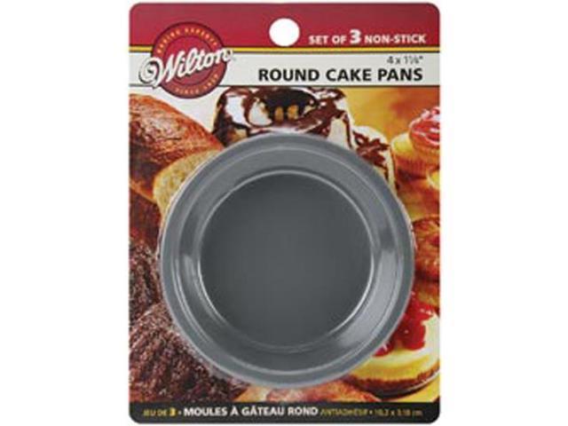 Mini Cake Pans 3/Pkg-4