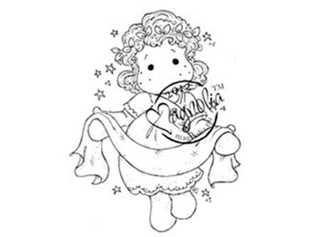 Nativity Cling Stamp-Tilda With Banner