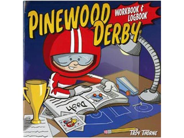 Design Originals-Pinewood Derby Workbook & Logbook