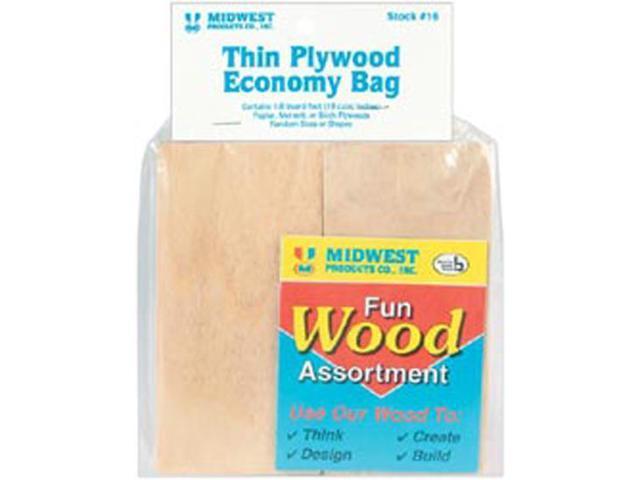 Wood Assortment Economy Bag-Thin Plywood
