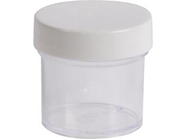 Basic Necessities 1 Ounce Jar With Cap 6/Pkg-