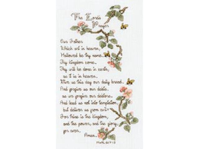 The Lord's Prayer Counted Cross Stitch Kit-5-1/2
