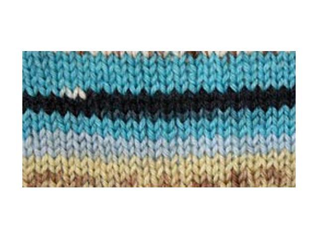 Kroy Socks Yarn-Turquoise Jacquard