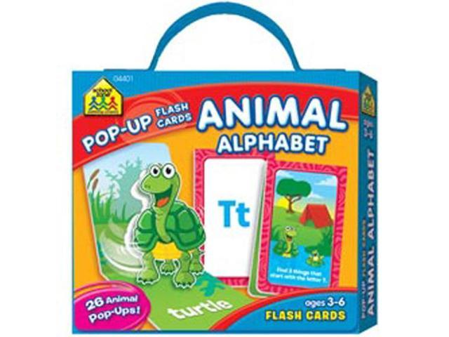 Pop-Up Flash Cards-Alphabet