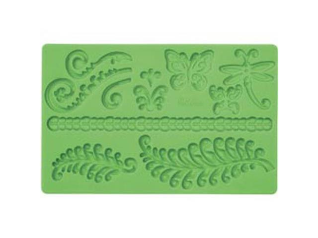 Fondant And Gum Paste Silicone Mold-Fern