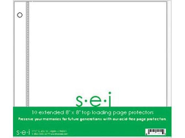 S.E.I. Postbound Page Protectors 8