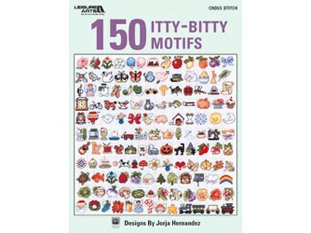 Leisure Arts-150 Itty-Bitty Motifs