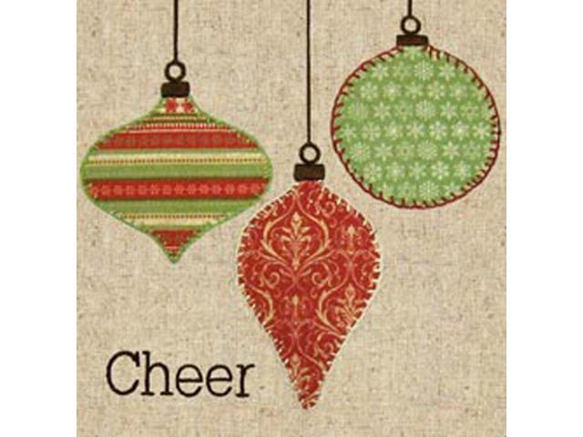 Cheer Fabric Applique Kit-8