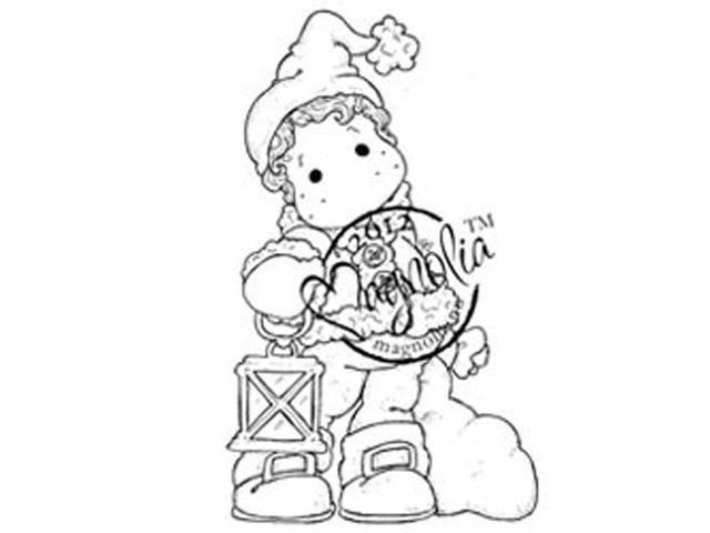 A Christmas Story Cling Stamp-Edwin With Sack