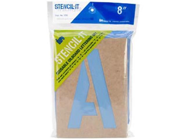 Stencil-It Reusable Lettering Set-8