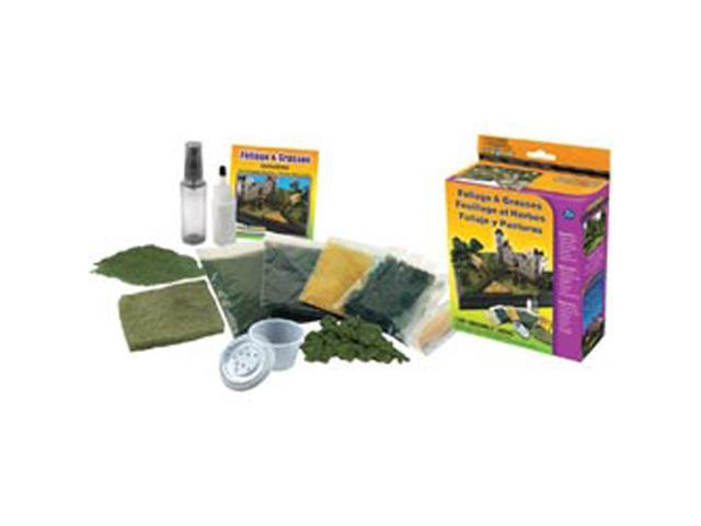 Bushes Foliage & Grasses Kit-