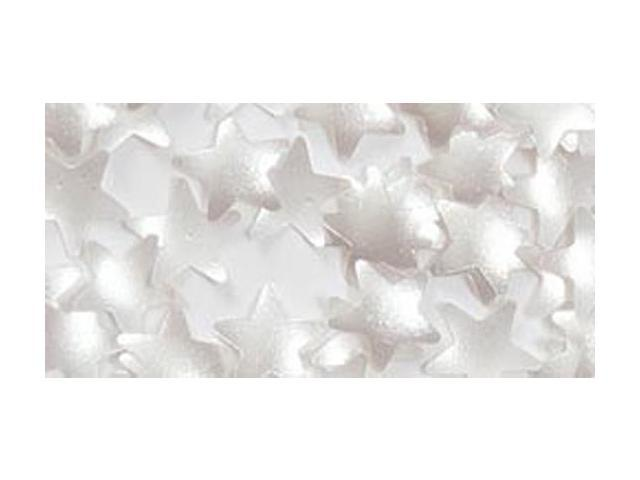 Edible Glitter .04 Ounces/Pkg-Silver Stars