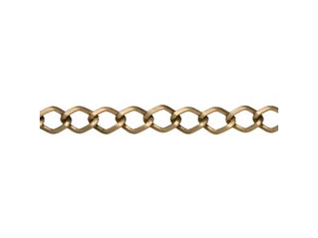 Jewelry Basics Metal Chain 1/Pkg-Antique Gold Small Diamond 70