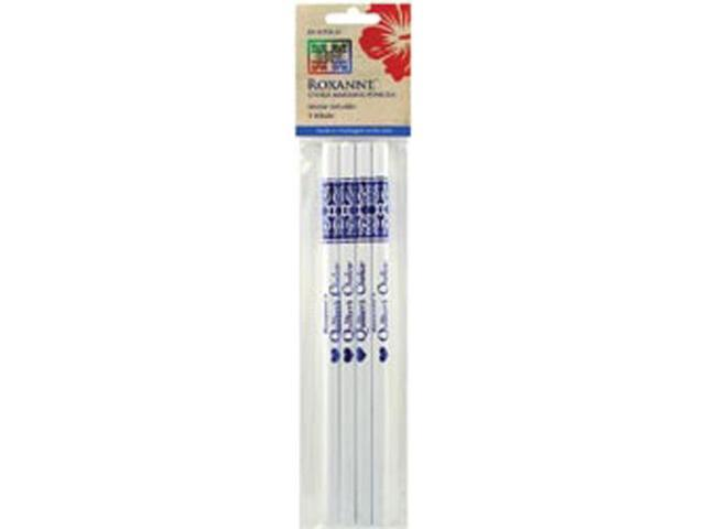 Water Soluble Chalk Marking Pencils 4/Pkg-White