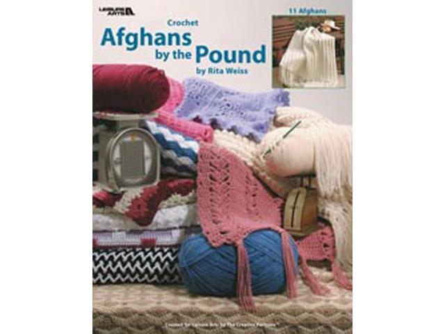 Leisure Arts-Crochet Afghans By The Pound