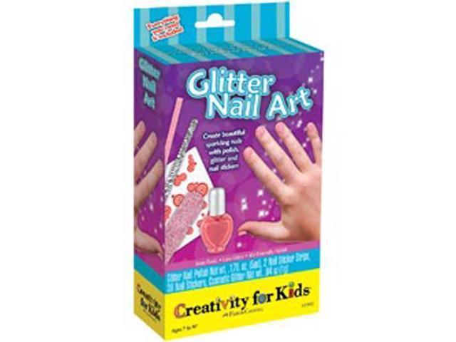 Creativity For Kids Activity Kits-Glitter Nail Art