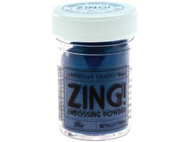 Zing! Metallic Embossing Powder 1 Ounce-Blue