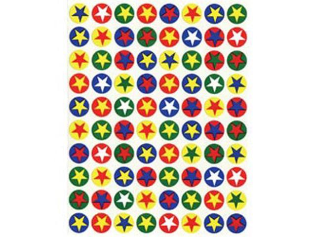 Sticker Forms Self Adhesive Stickers-Stars & Circles 105/Pkg