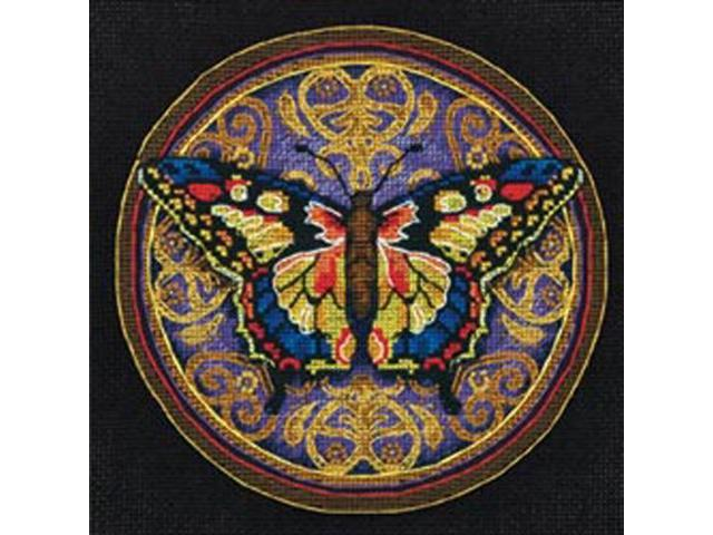 Gold Collection Petite Ornate Butterfly Counted Cross Stitch-6