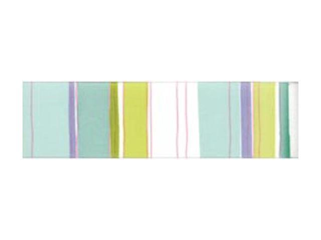 Retro Stripe Ribbon 1-1/2