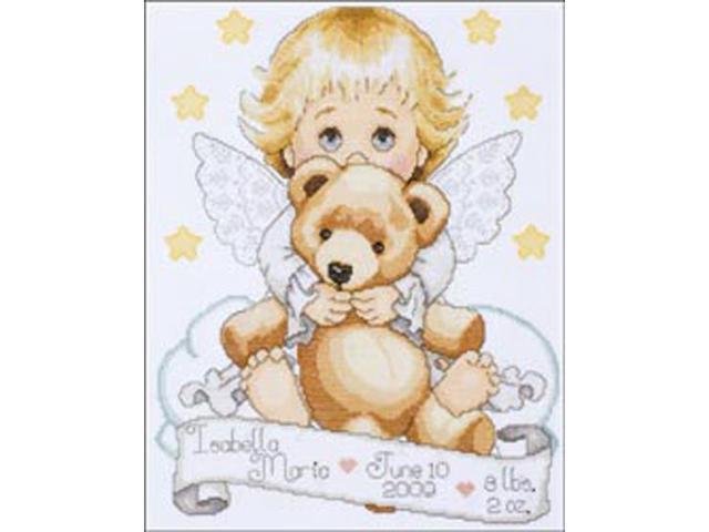 Angel Birth Record Counted Cross Stitch Kit-11