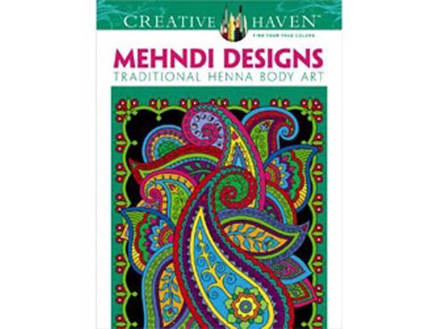 Dover Publications-Creative Haven Mehndi Designs